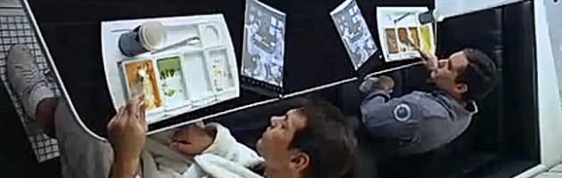 Tablets no filme 2001: Uma odisseia no espaço