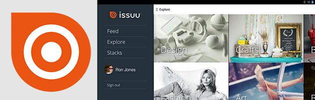 Issuu lança aplicativo para o Google Play