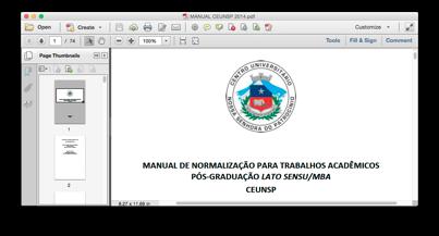 Exemplo de PDF